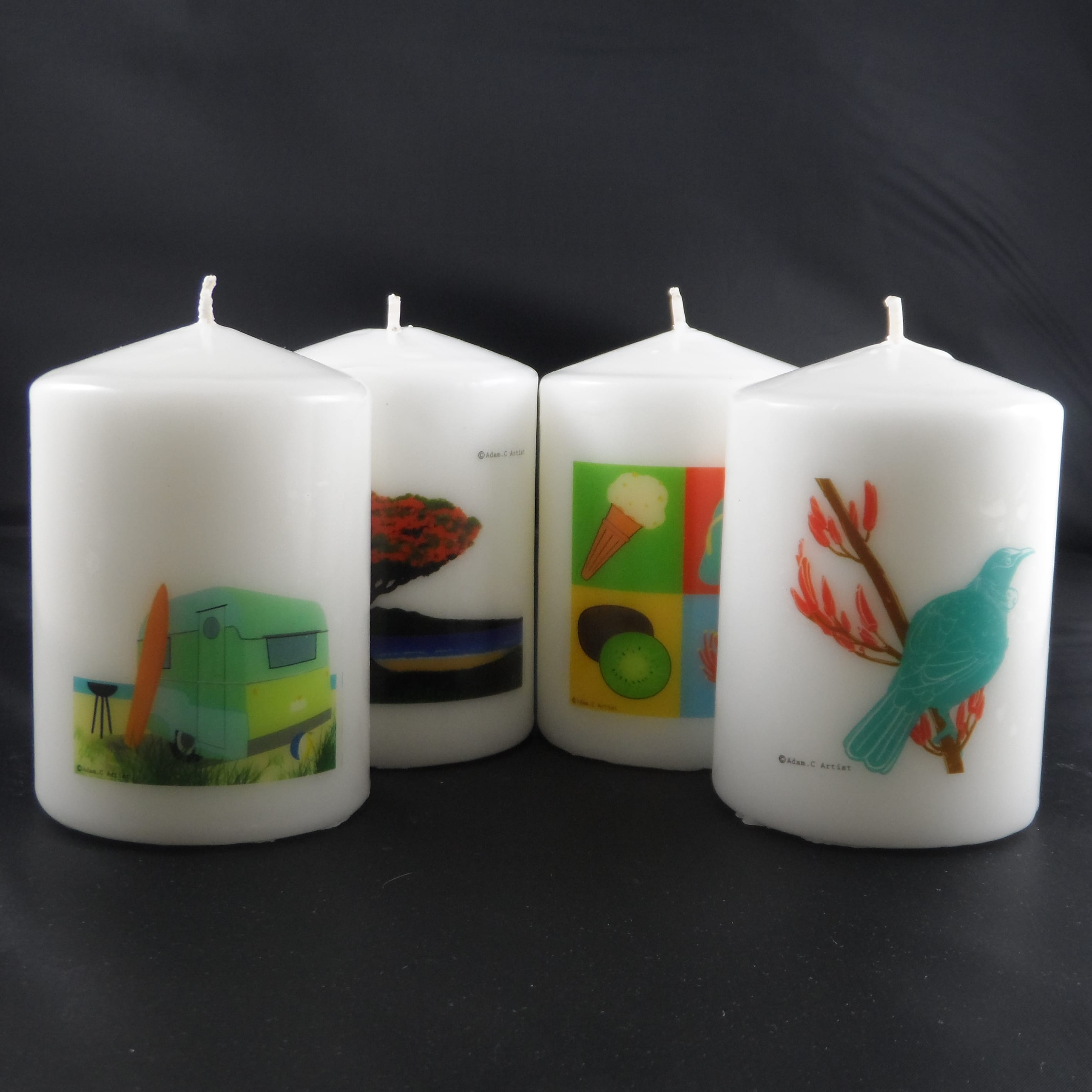 Multi Wick Candles Multi Wick Dish Candle 8 Wick Golden Glow Candles